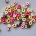 #4 30 шт. Милая смесь, небольшой пончик, форма ногтей, полимерные украшения, красивые