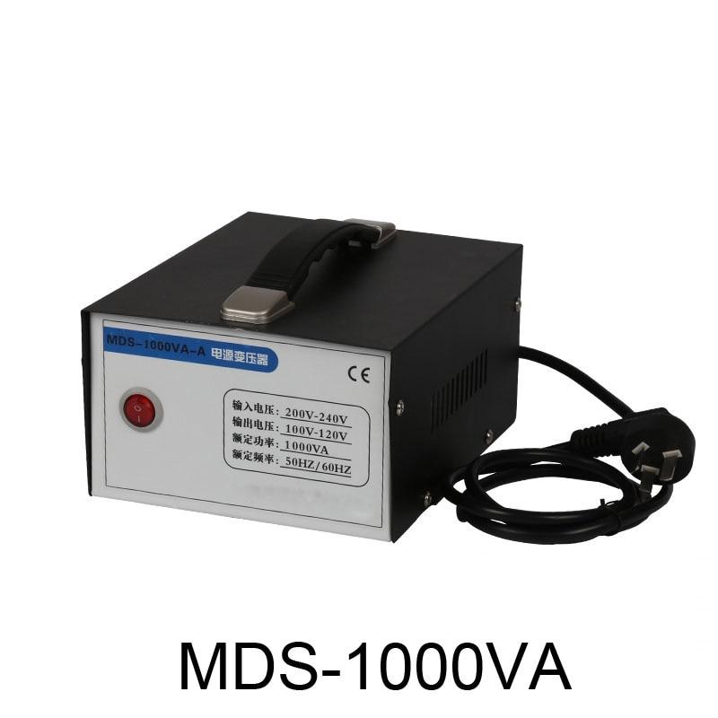 1000w 1KVA 1KW Step Down Voltage Converter Transformer 220v-240V to 110v-120V by DHL Free Shipping 1 pc 1500w 1 5kva step down voltage converter transformer 220v 240v to 110v 120v