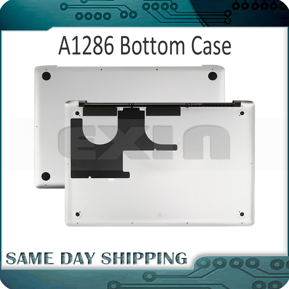 NEW Laptop A1286 Bottom Case for Macbook Pro 15 A1286 Bottom Cover Case Battery Door 2009