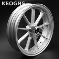 Keoghs Motorcycle Scooter Modify 12 Inch Front Wheel Rim 70mm Disc Install Aluminum Alloy For Yamaha Kawasaki Modify