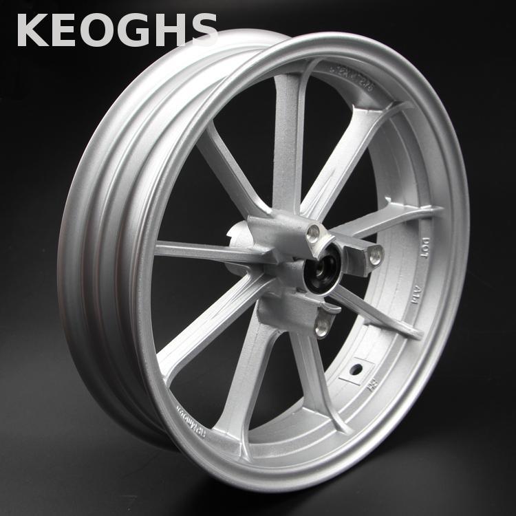 Keoghs moto Scooter modifier 12 pouces jante de roue avant 70mm disque installer alliage d'aluminium pour Yamaha Kawasaki modifier