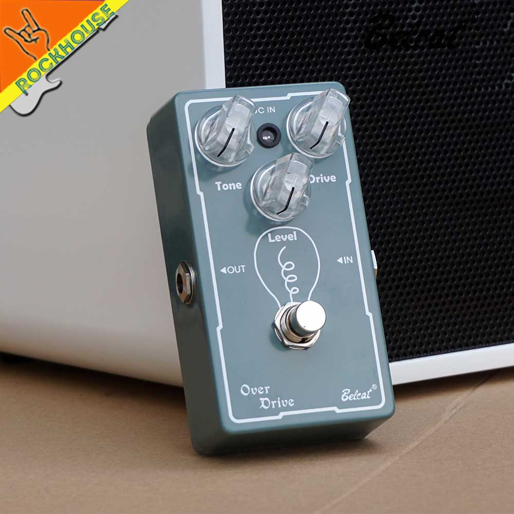 цена на Belcat Analog Overdrive Guitar Effects Pedal Tube Screamer Nature and Warm Sound True Bypass Free Shipping