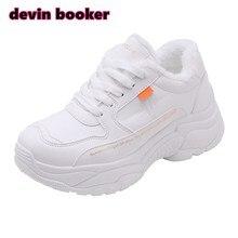 Новинка; Лидер продаж; женская зимняя обувь из искусственной кожи и бархата; Теплая обувь для бега; спортивная обувь; DKS-238