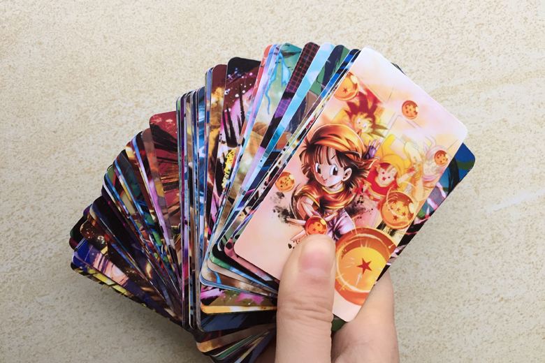 100pcs/set Super Dragon Ball Z Heroes Battle Card Ultra Instinct Goku Vegeta Game Collection Cards