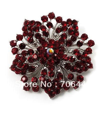 ANTIQUE VINTAGE INSPIRED DIAMANTE CRYSTAL RHINESTONE BRACELET BRONZE FLOWER