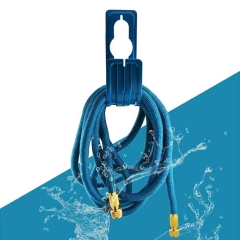 Puissant cintre de tuyau de jardin extérieur pour l'utilisation avec le tuyau d'arrosage extensible