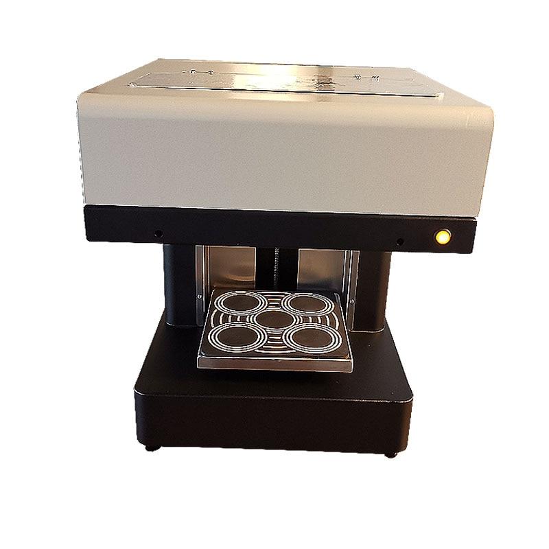 DIY 3D принтер для кофе латте арт 4 чашки машина печати торт все в одном пищевой