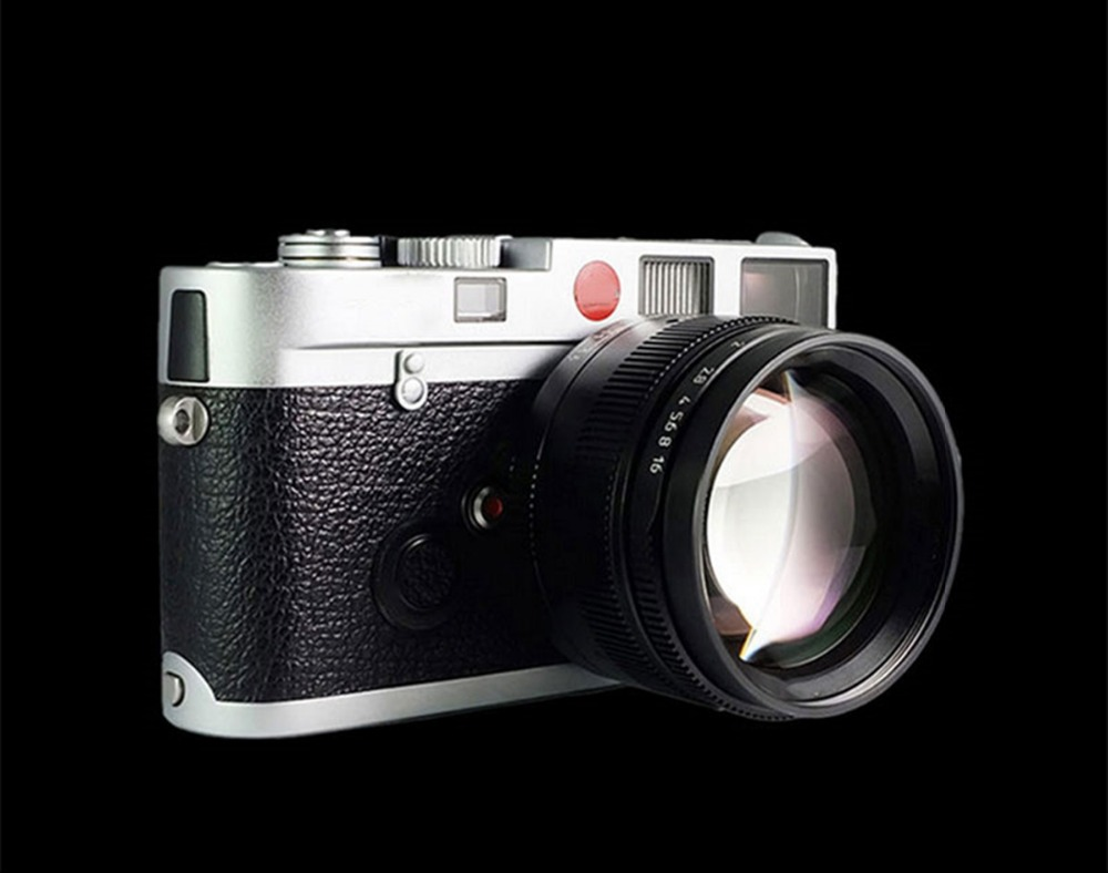 50mm f1.1 m montagem lente fixa para leica m montagem câmeras M M m240 m3 m6 m7 m8 m9 m10 - 5