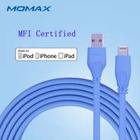 Momax 2m Fast Data Connector Lightning USB MFi Certified Cables For IPnone7 Charging Cable For Apple