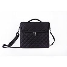 Купить с кэшбэком Large Capacity Cosmetic Bag New Women Makeup Bag Organizer For Cosmetics Toiletry Bags Multi-layer Storage Box Portable Suitcase