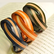 2-Rounds-Flexible-Size-Vintage-Style-Genuine-Leather-Bracelets-For-Men-And-Women-Stripe-Hands-Bands