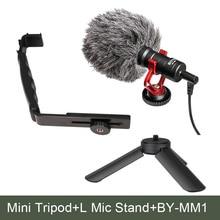 Ulanzi L Bracket Mini Tripod Boya Microphone Kit for Zhiyun zhi yun Smooth Q Feiyu font