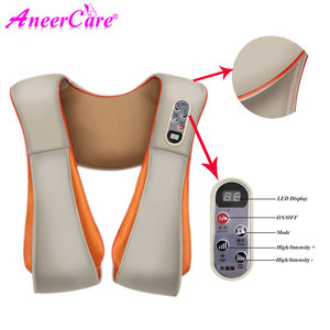 Image 3 - Shawl Relax Massage Relaxation For Electric Back Massager Neck Shoulder Body Health Care Beat Heating
