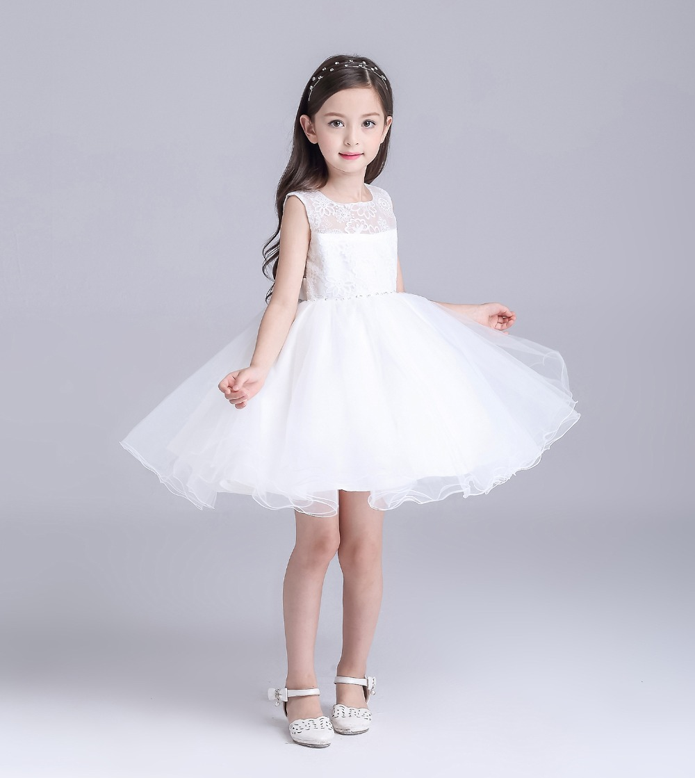 Aliexpress buy white flower girls bridesmaid dress teenager aliexpress buy white flower girls bridesmaid dress teenager evening gown long lace tail sequin kids weeding dresses for birthday weeding party from ombrellifo Images