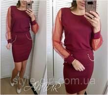 ef39a6d04 Elegante 2018 Novas Mulheres Blusa Da Moda Outono O-pescoço Malha Studded  Beading Mangas Compridas