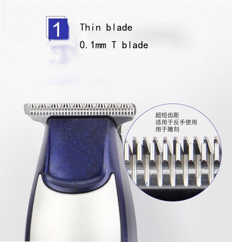 cabelo profissional recarregável 0mm baldheaded aparadores de
