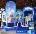 Equipo del parque de atracciones kasteel congelados zona infantil de juegos