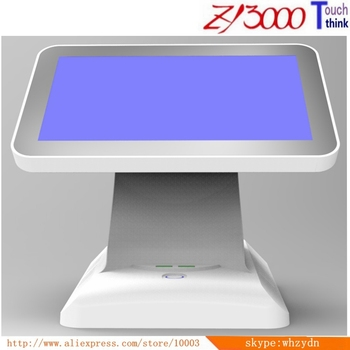 new 15 inch Factory Price 1037u 4G ram 64G SSD WIFI capacitive touch screen POS system