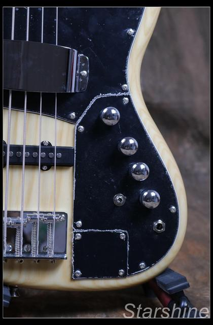 Jazz Bass 5 String Bass Guitar Z-ZV4 light ASH Body - Free Shipping  4