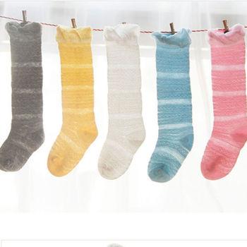 1 пара осенняя для маленьких девочек носки детские Мягкий хлопок Гольфы для девочек колготки гетры чулок От 0 до 3 лет