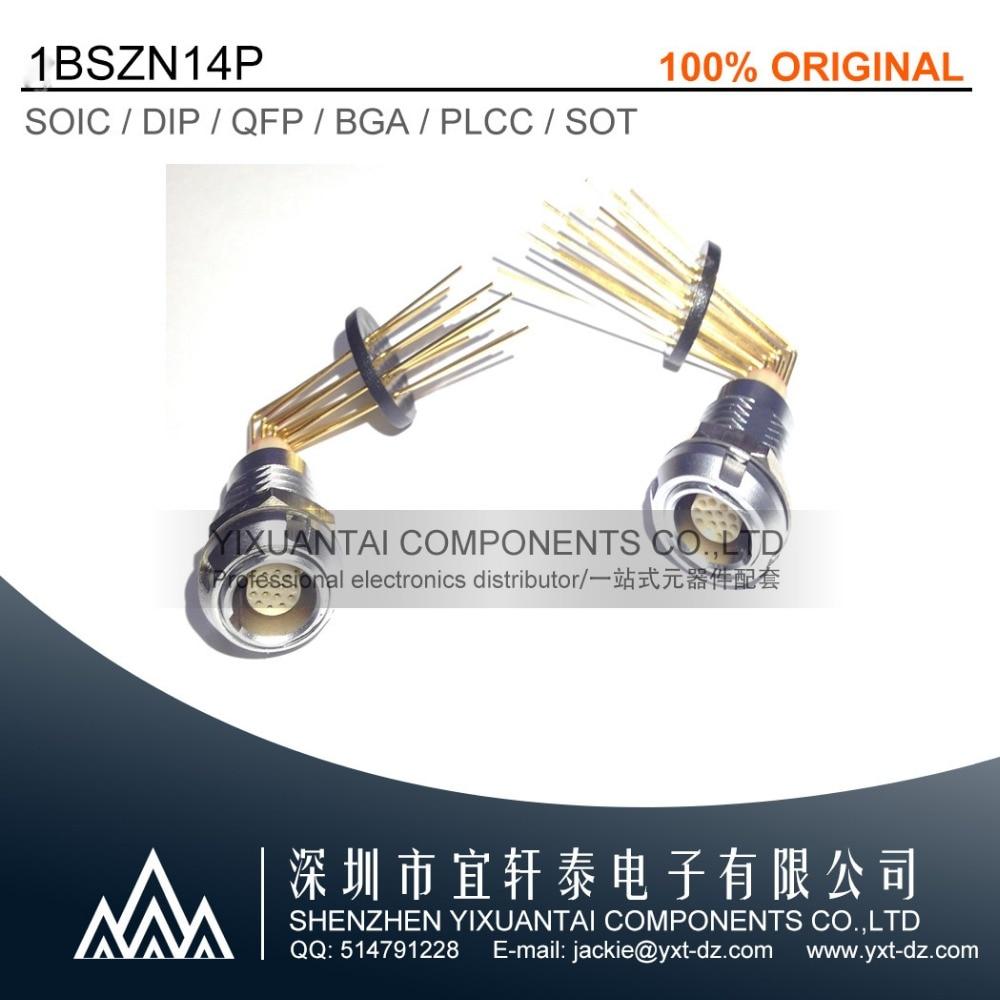 1 шт. 5 шт. 1BSZN14P LEMO connectorFGG.2B. 314. Одетый; ECG.2B. 314.CLL, подходит для установки печатных плат, 90-градусного изгиба гнезда иглы