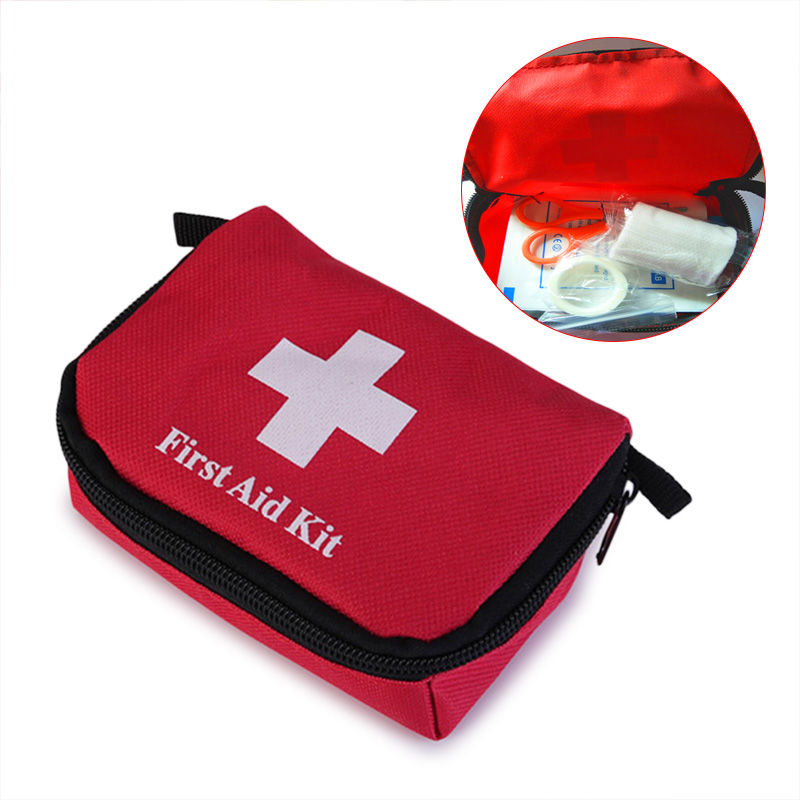 Outdoor Travel First Aid Kit Rescue Bag Survival Emergency Treatment Mini For Outdoor Hiking Camping Home  Small Medical Box