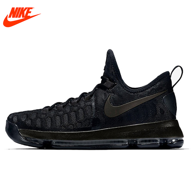 Original New Arrival Authentic NIKE Men's Original Kevin Durant Breathable  Black Basketball Sports Shoes Sneakers