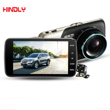 Original Mirror H801B Car DVR Video Recorder 1080P 30fps Dual Camera 4 inch 160 Degree Angle Loop Video Recorder WDr Microphone