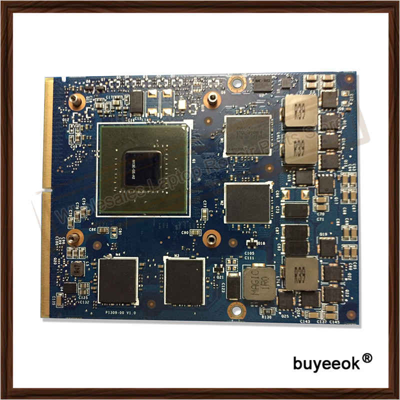 Original GTX 660M GTX660M 2GB N13E-GE-A2 Graphic Card For DELL M17X R4 Display Video Card GPU Replacement Tested Working remington pg6070