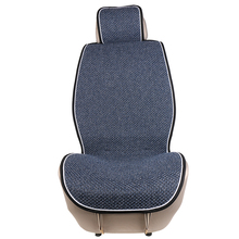 1 piece Universal Front Car Seat Cover Mat Artificial linen Auto Seat Cushion covers in The Car fit Most Cars Truck Suv or Van universal car seat cover fiber linen front cushion 3d car styling seat covers automobiles for toyota for hyundai 1pcs 3 colored