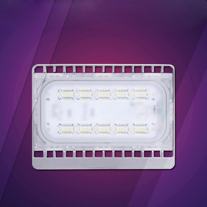 6pcs/lot 30W 50W 70W 100W AC85-265V LED Flood Light Ultra Thin LED Reflector Lighting Lamp outdoor LED Landcape FloodLight
