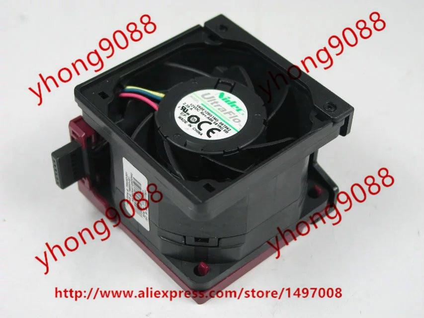 Nidec V60E12BS1M3-08T062 DC 12V 2.39A 60x60x38mm servera kvadrātveida ventilators