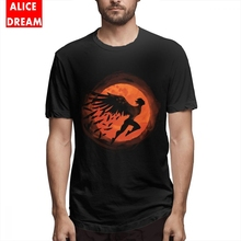 цены Icarus Sunset Black Tee Shirt Popula Male New Custom Homme Tee Shirt Son of Daedalus Round Collar Plus Size Homme Tee shirt
