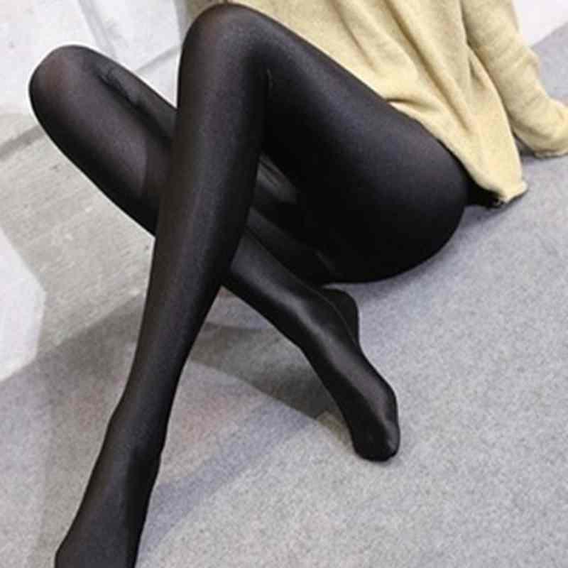 e4b5bc1616e3 lady black shine full length leggings women casual fitness skinny pants  female step foot long leggings