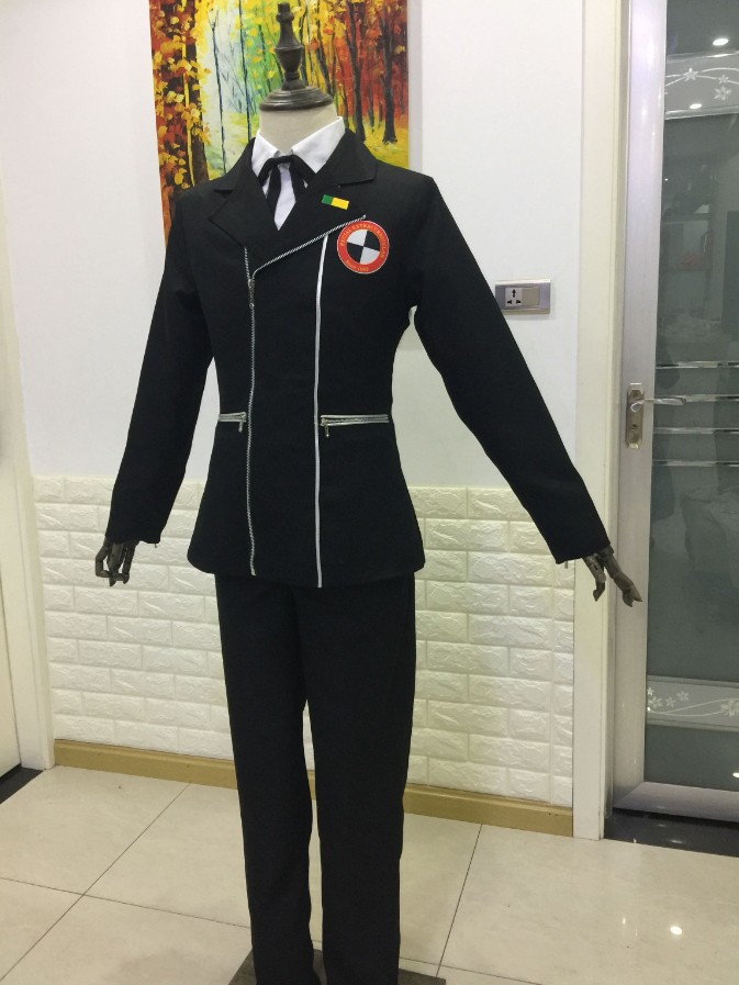 Anime Persona 3 Minato Arisato Cosplay school uniform outfit Costume Custom Made-in Anime Costumes from Novelty & Special Use    2