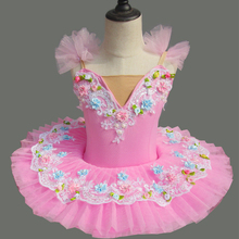 New Flower professional ballet tutu child kids costumes dress girl dance girls