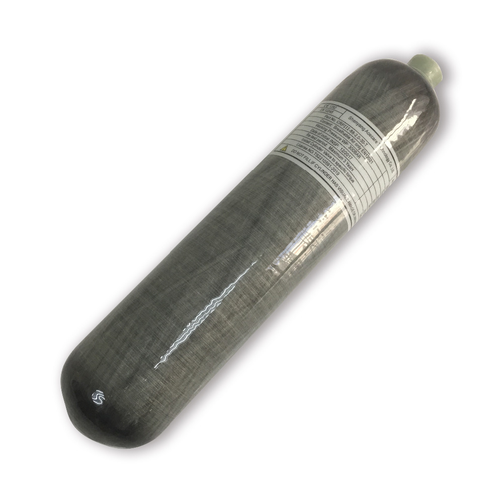 AC102 Safety Equipment High Quality Carbon Fiber Cylinder 2L PCP Rifle Airgun Condor Composite Tank Drop Shipping Acecare 2019