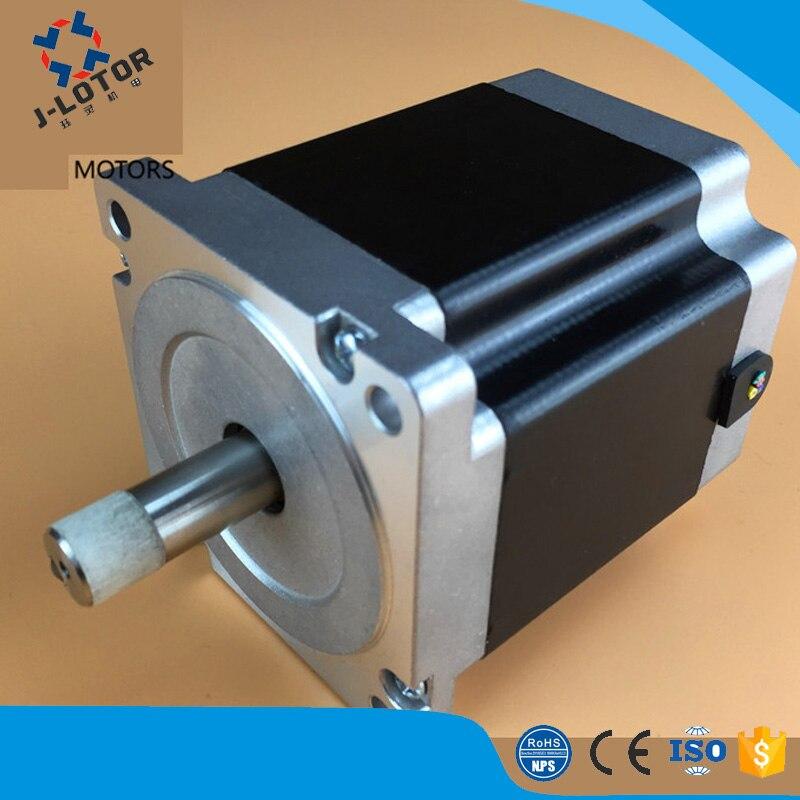 68mm 1.75A 86 BYG 1. 2 degré trois-phase hybride servo moteur pas à pas moteur pour machine à broder, machine de gravure et 3 d