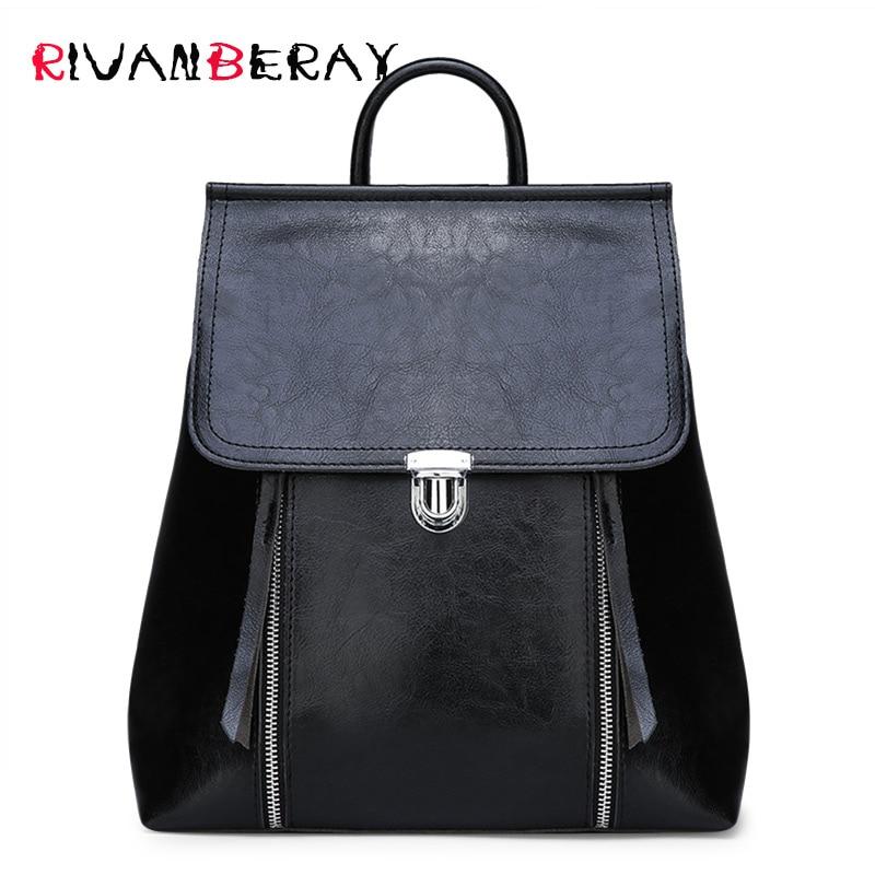 Модный женский рюкзак знаменитый кожаный рюкзак женский большой емкости книжная Сумка дизайнерская женская сумка на плечо для женщин 2018 рю