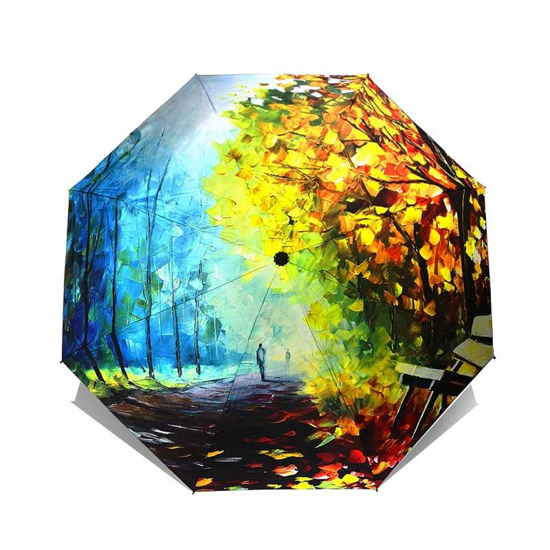 Óleo Guarda-chuva Chuva Paraguas Sombrinha de Artes