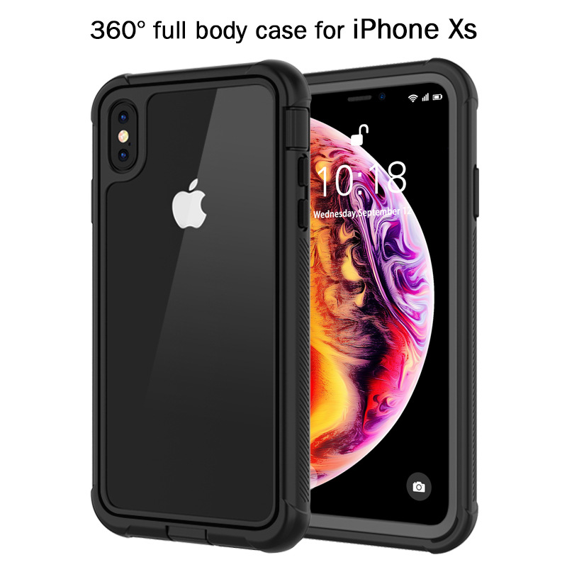 Shockproof Case for Samsung Galaxy S8 S9 Plus Note9 Full Body Protective Case Cover for iPhone 7 8 X XS XR XS Max Case Cover