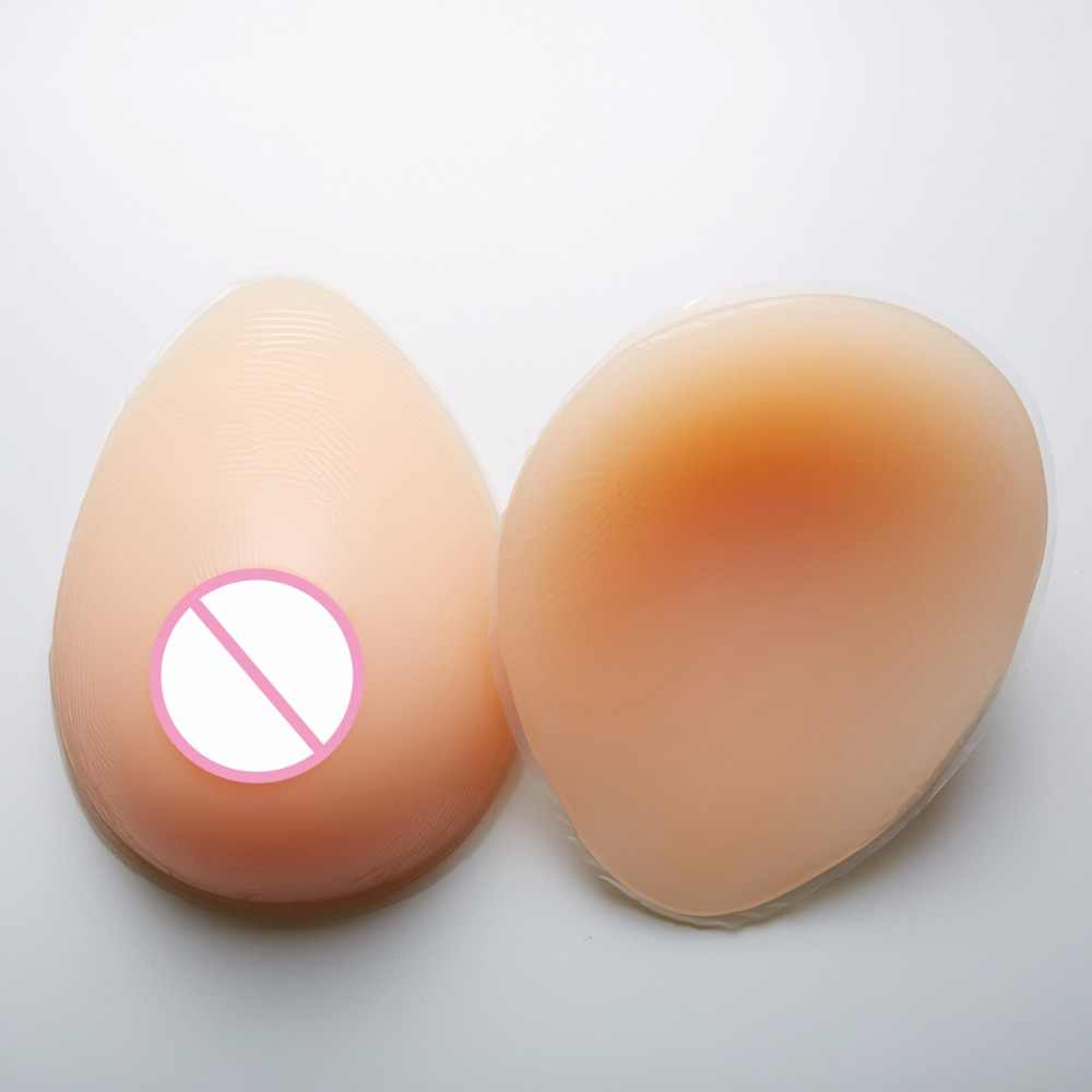 dc432482c8739 600g pair B Cup False Boobs EnhancerSilicone Breast Form Full Boob  Crossdresser TV Soft Natural