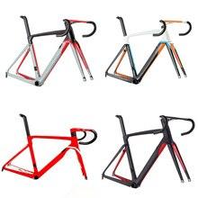 Новое поступление Cento 10 air road углеродное волокно велосипедная рама дорожный велосипедная Рама с вилкой зажим подседельный штырь ALABARD карбоновый руль spacer