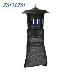 Сельскохозяйственная лампа для уничтожения комаров, 220 В, 15 Вт, фотокатализатор, ингалятор, ловушка для комаров, УФ-лампа для насекомых, для у...