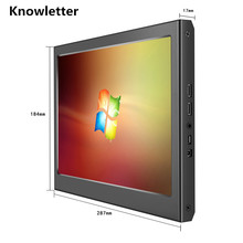 11.6 Inch Metal HD Monitor 1920X1080 IPS Panel PS3 PS4 Xbox360 Display Monitor for Raspberry Pi Windows 7 8 10 Thickness 17mm