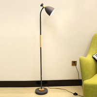 Simple Dimmable LED Floor Lamp Creative Modern European Stand Lamps Nordic Study Reading Lamp For Living Room Sofa Bedroom