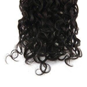 Image 3 - Fita adesiva de onda natural brilhante, 50g 20 pçs, fita adesiva, feita à máquina, cabelo humano remy cola preta na
