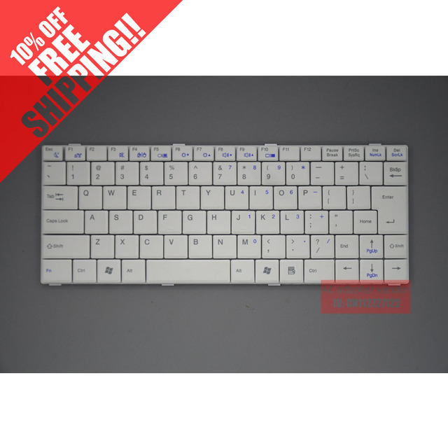 S30 10.2-inch hedy S11 netbook V0761 series laptop keyboard black 25PIN white and black