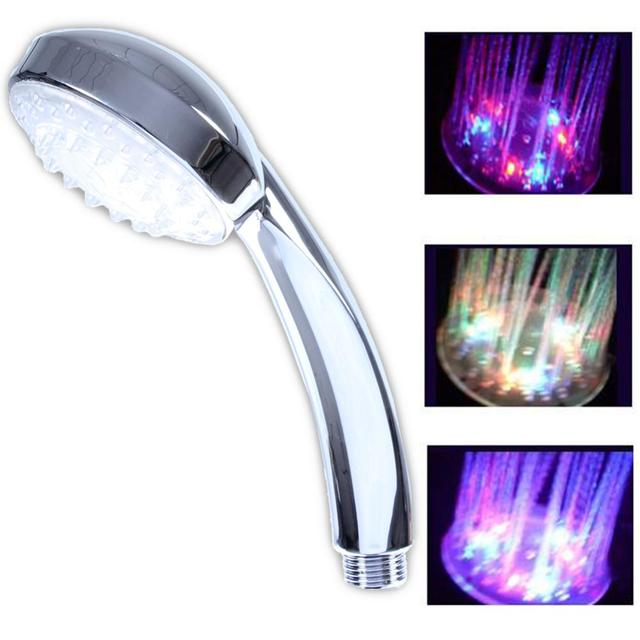 LED Shower Head 2017 Brand New Romantic 7 Colors Changing Or Temperature  Control Color Water