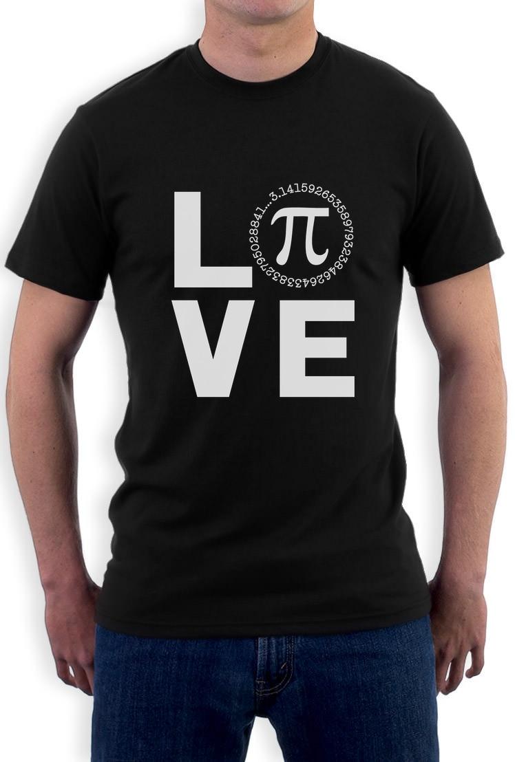 I Love Pi - Happy Pi Day Cool Math Celebration T-Shirt Funny Gift Casual Short Sleeve Shirt Tee